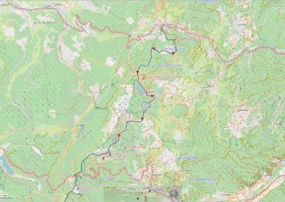 #2 Etang du Devin – Tete des Faux – Col du Calvaire – Lac Blanc – Lac Noir – Lac Vert – Auberge de Schantzwasen