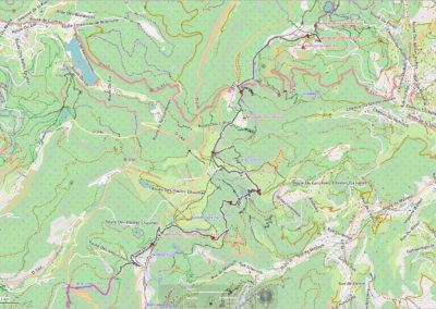 #3 Auberge de Schantzwasen – Col de la Schlucht – Hohneck – Col du Schäferthal – Lac de Schiessrothried – Le Kerbholz – F.A. Kastelberg – Rainkopf – Col de l'Etang