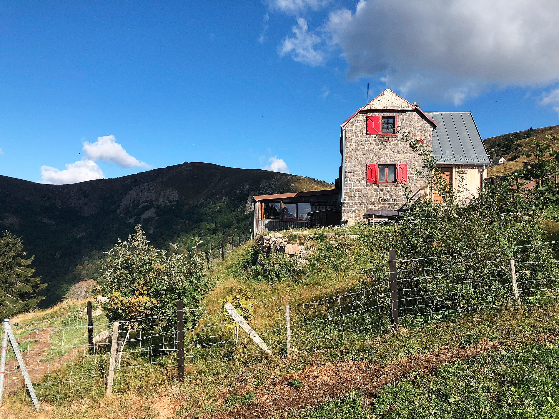 ferme auberge schiessroth le hohneck gaschney elsass wandern