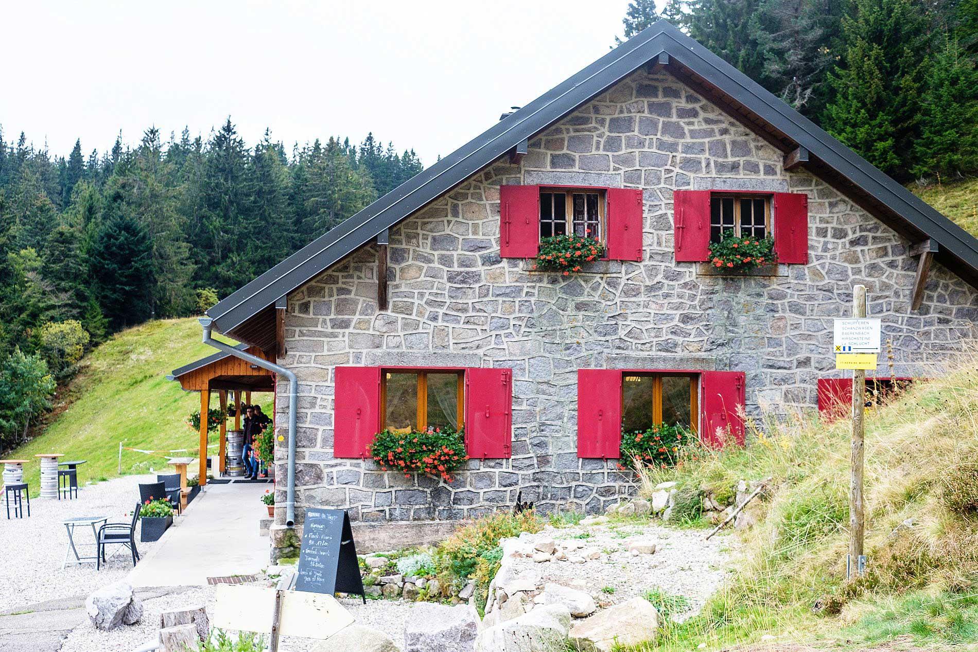Ferme Auberge Seestaedle Le Tanet Vogesen Elsass